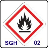 CLP/SGH02 Inflammable